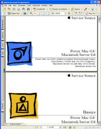 Apple Macintosh Server G4 Service Manual / Guide Picture